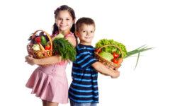スポーツをする子供は野菜が必要!